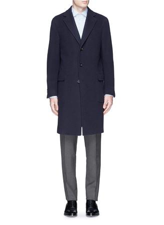 'Kei' wool bouclé coat