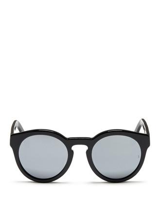 'Kiteys' round acetate sunglasses