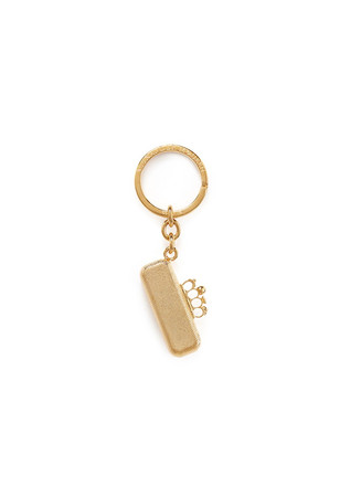 Knuckleduster clutch keyring