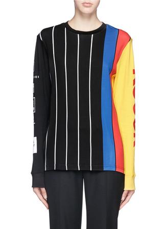 Kodak stripe T-shirt