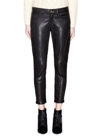 'Le Garçon' leather pants