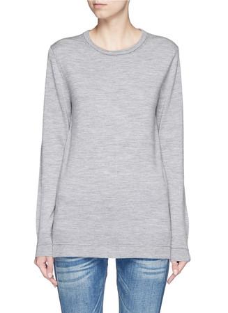 'Leanna' contrast seam sweater
