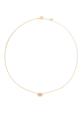 'Little Ruyi' 18k gold diamond necklace