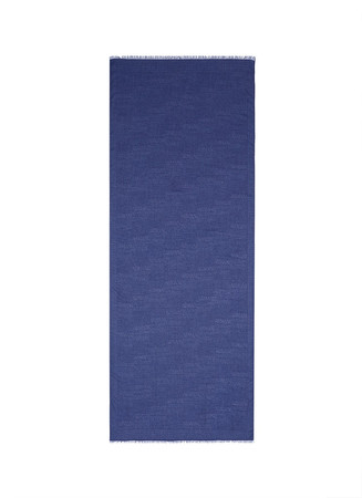 Logo jacquard modal blend scarf
