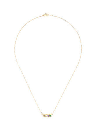 'Love' 14k yellow gold necklace