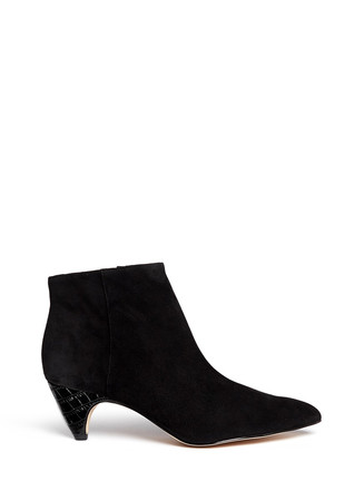 'Lucy' suede ankle boots