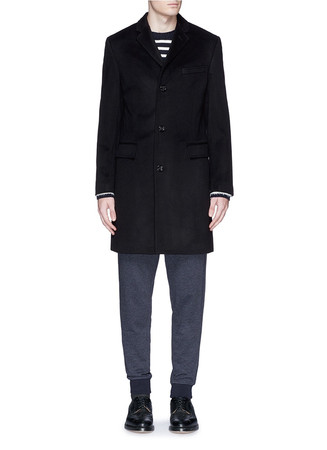 'Ludlow' topcoat in wool-cashmere