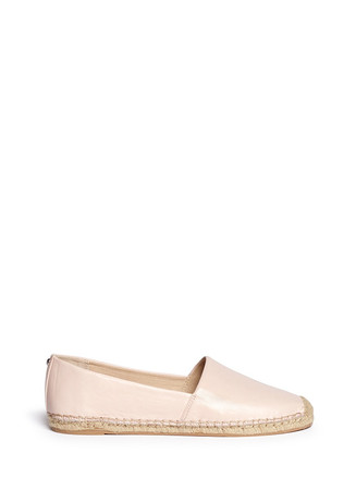 'Lynn' leather espadrilles