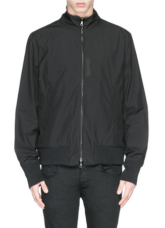 'Marshall' reversible seersucker bomber jacket