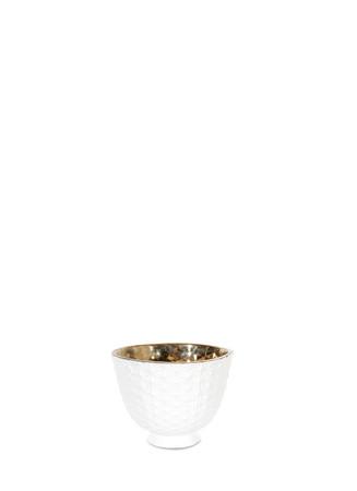 Metallic interior spider pot bowl