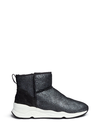 'Miko' shearling ankle boots
