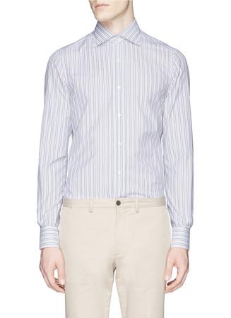 'Milano' multi stripe shirt