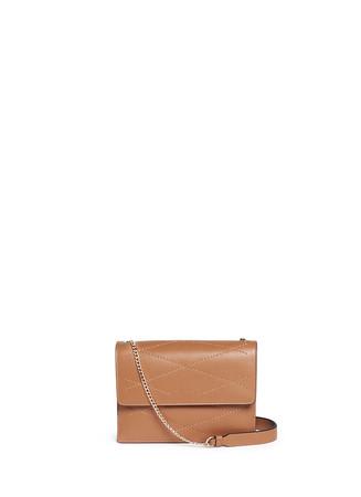 'Mini Sugar' calfskin flap bag