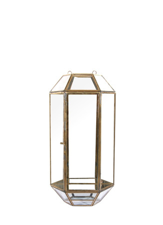 Mirror wall votive candleholder