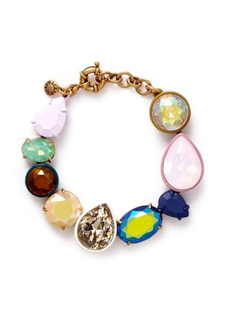 Mixed hue bracelet