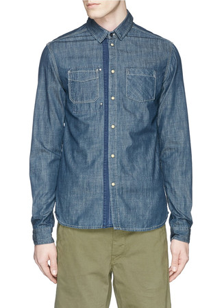 'Mr. Blue' denim shirt