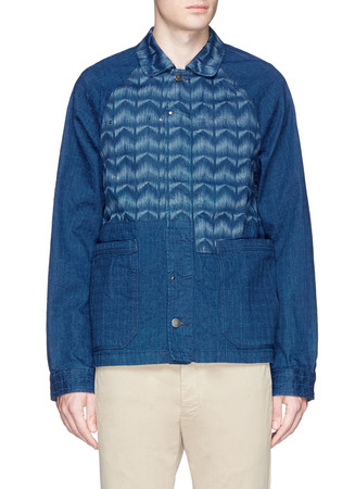 'Mr. Blue' workwear denim jacket