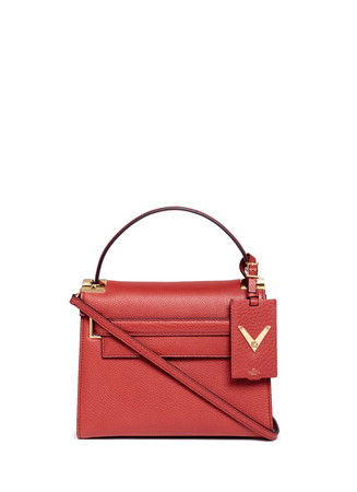 'My Rockstud' small top handle leather bag