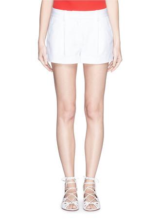'Naples' cotton blend shorts