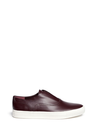 'Nelson' laceless oxford slip-ons