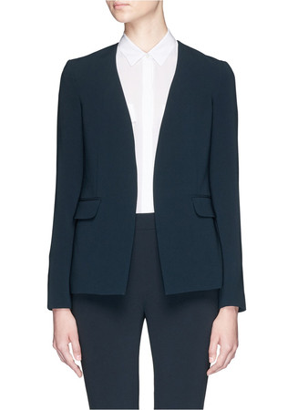'Niransi' open front blazer