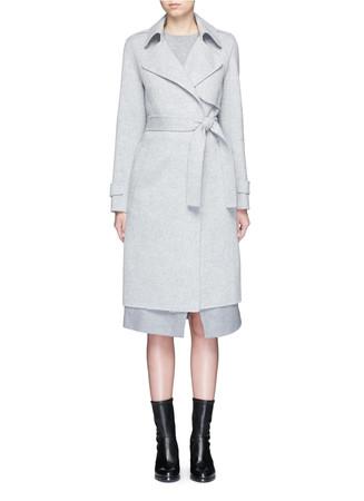 'Oaklane' belted wool-cashmere coat