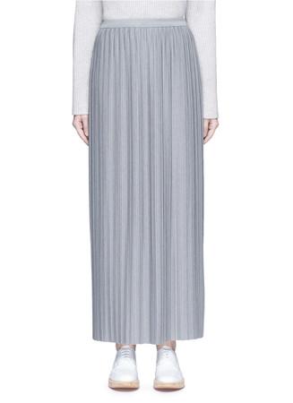 'Osnyo' plissé pleat maxi skirt
