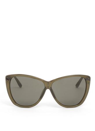 Oversized-frame sunglasses