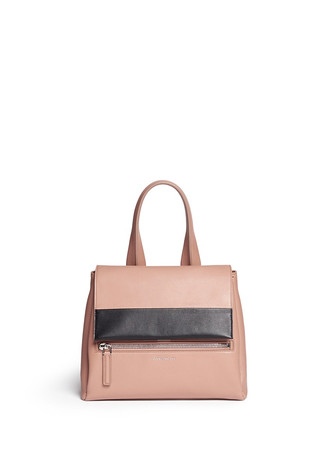 'Pandora Pure' small leather flap bag