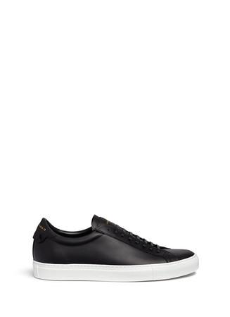 'Paris 17' leather low top sneakers
