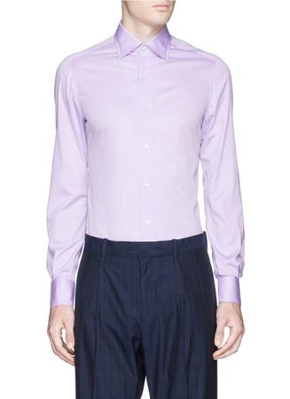 'Parma' close collar shirt