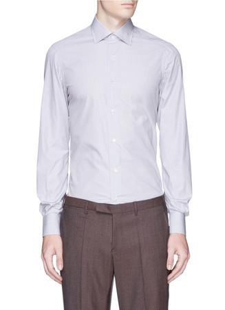 'Parma' cotton poplin shirt
