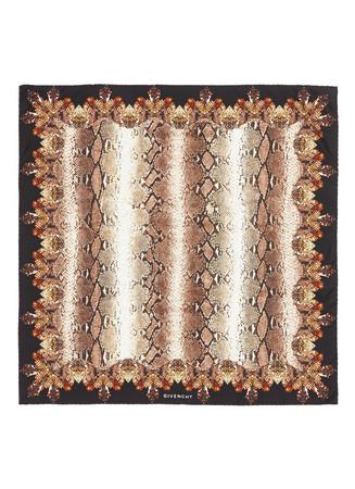 Python print silk satin scarf