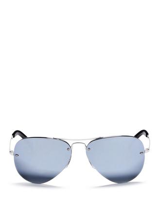 'RB3449' aviator mirror sunglasses