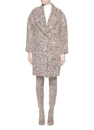 'Ralter' mohair-wool bouclé oversize coat