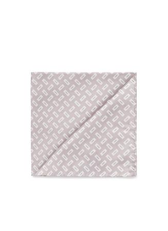 Rectangle silk jacquard pocket square
