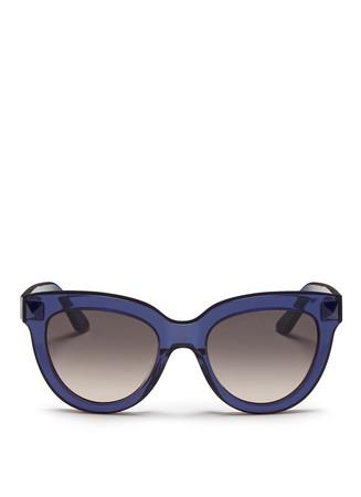 'Rockstud' acetate sunglasses