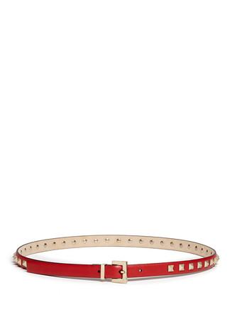 'Rockstud' leather belt
