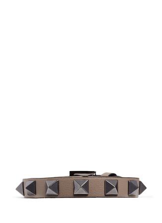 'Rockstud' leather bracelet