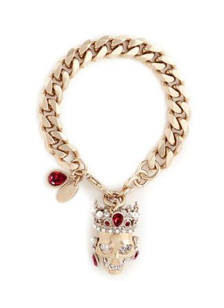 Royal skull bracelet