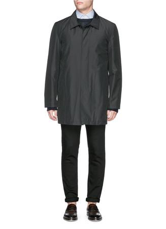 'San Gennaro' wool coat