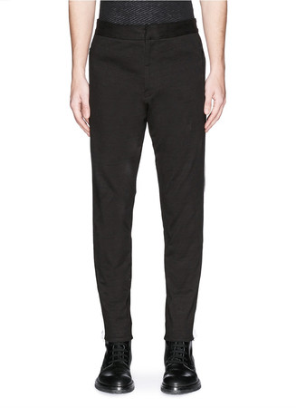 'Sector' webbing side stripe track pants