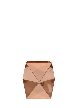 Small angled vase