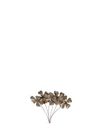 Small metal flower bundle