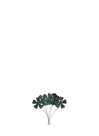 Small metal flower bundle Christmas ornament