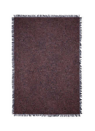 Splotch print cashmere-silk scarf