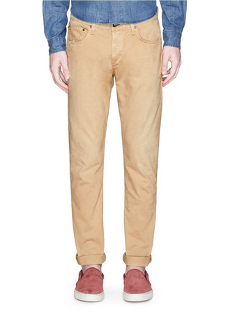 'Standard Issue' cotton twill pants