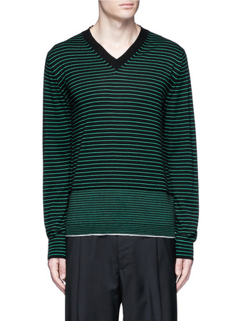 Stripe Merino wool sweater