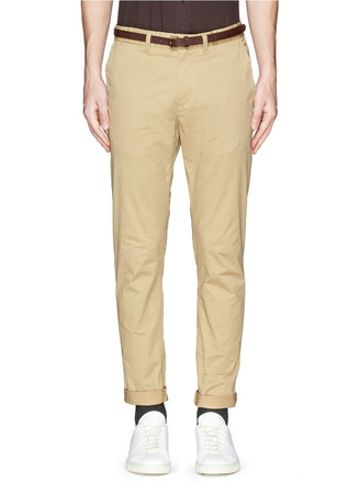 'Stuart' slim fit stretch chinos