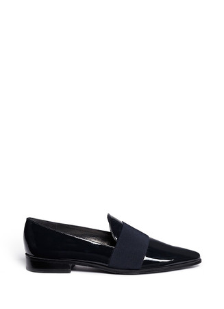 'The Band' leather slip-ons
